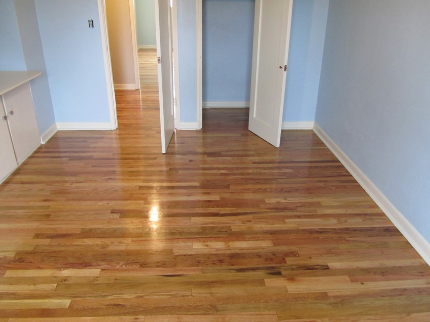 Bedroom After Red And White Oak Mix Seattle General