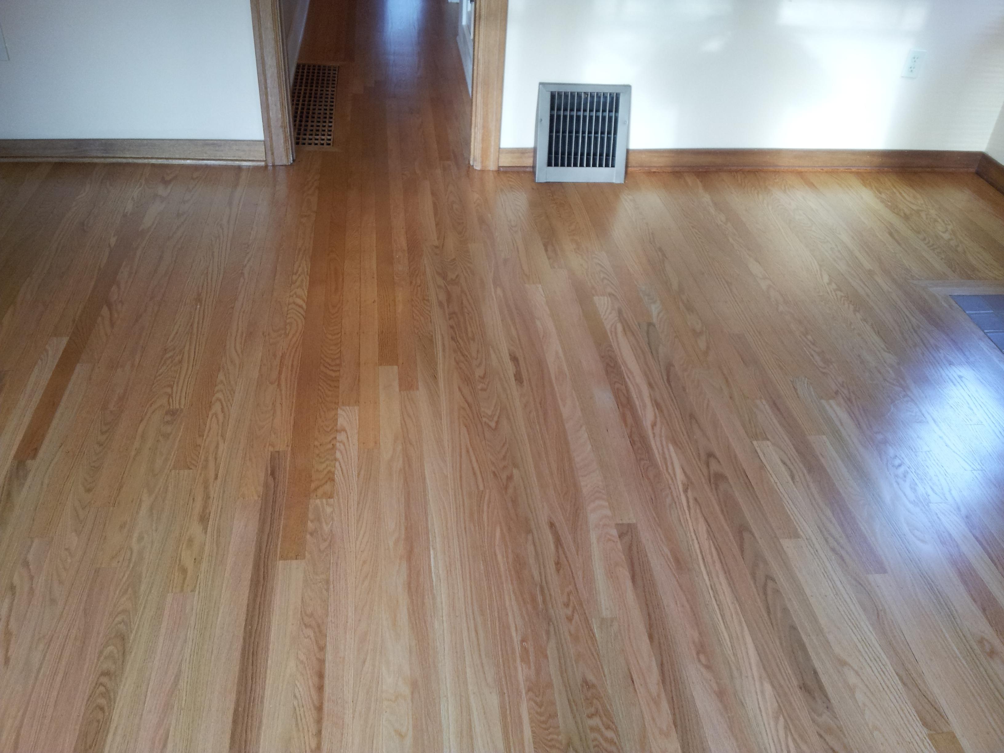 Oak Hardwood Flooring Seattle General Contractor And