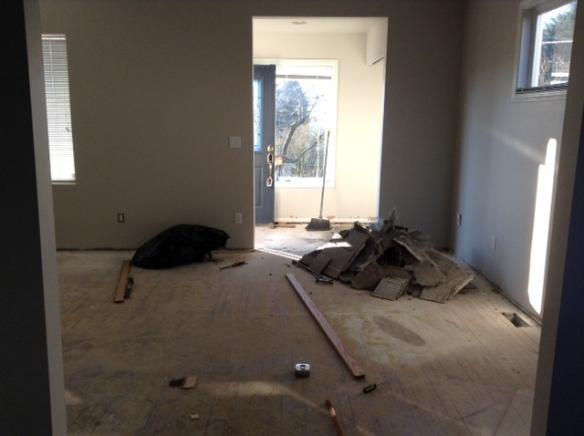 8th ave ne living room before