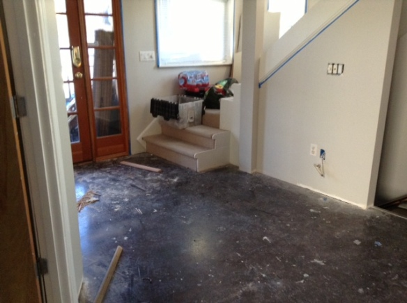 Before of Kitchen Area