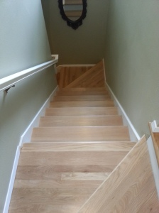 Bellevue American Cherry Stairs 2