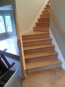 Bellevue American Cherry Stairs